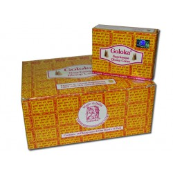 Box of 12 cases of incense GOLOKA in cones ** 2 cases offered **