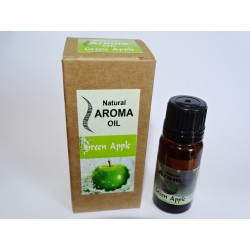 Home fragrance to dilute and heat (10 ml) GREEN APPLE