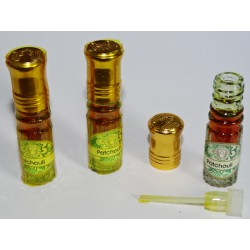 PATCHOULI perfume extract (3 x 2.5 ml)