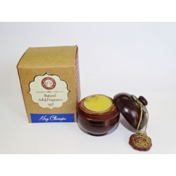 Solid perfume in wax Bio Nag Champa SONG OF INDIA (6 Grs)