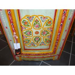 Porcelain knobs sun orange