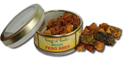 Natural incense resin