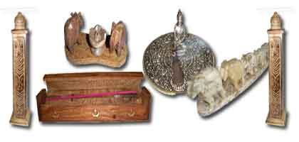Boxes & incense holder